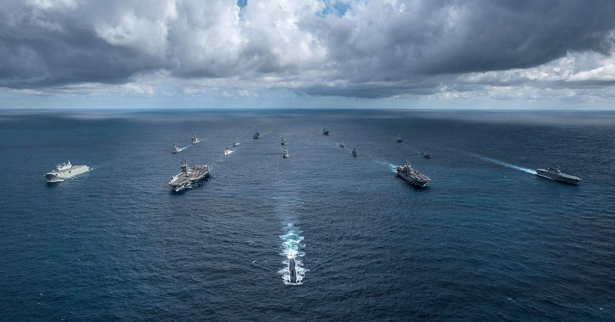 Ships Converge for Talisman Sabre