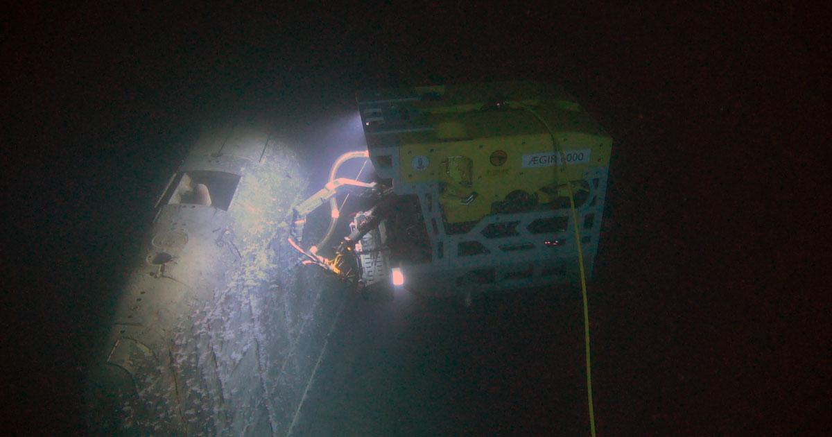 ROV Measures Radioactive Leak from Wreck of Soviet Sub
