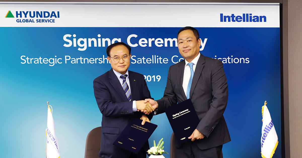 Intellian and Hyundai Global Services in Strategic Partnership