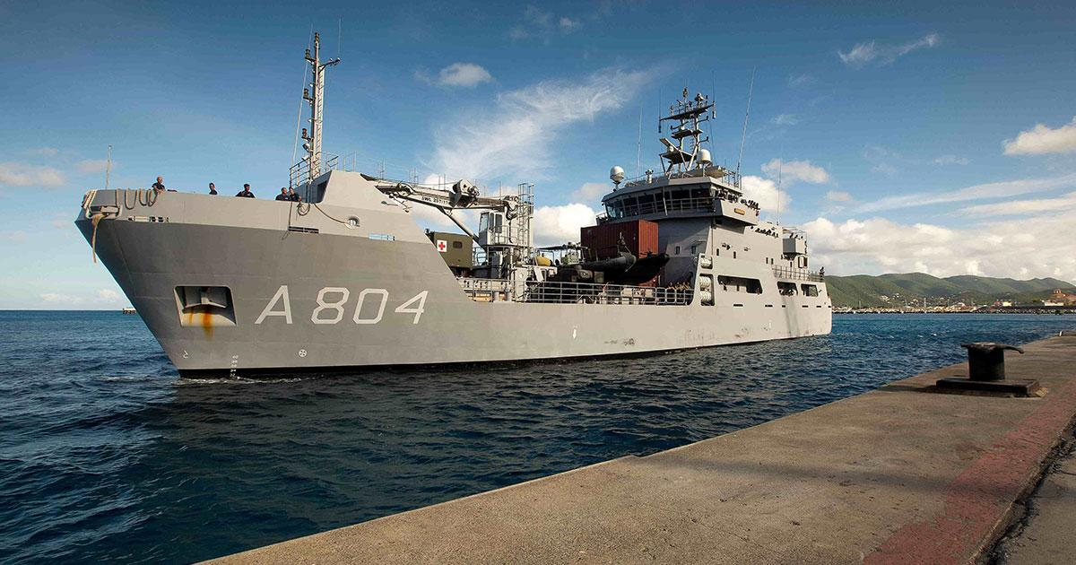 Damen Signs Maintenance Contract with Netherlands Ministry of Defense