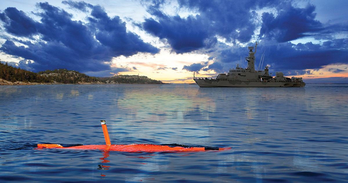 Training Makes Perfect with Saab's AUV62-AT
