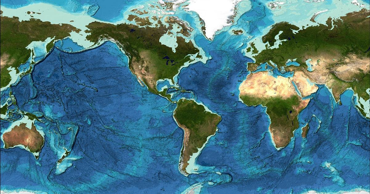 GEBCO: Data of the World's Ocean Floor Has More Than Doubled