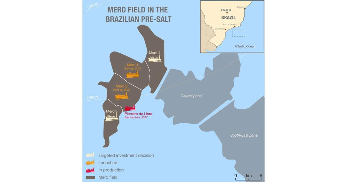 Total Launches Phase 2 on the Giant Mero Field Development in Brazil