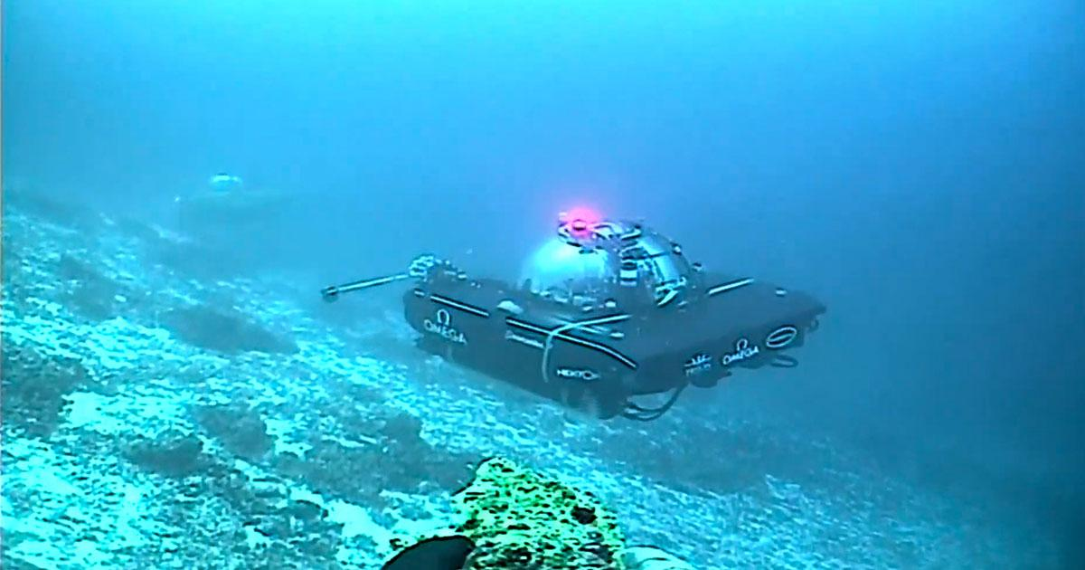 Sonardyne's BlueComm Used in First Live Broadcast from a Submersible
