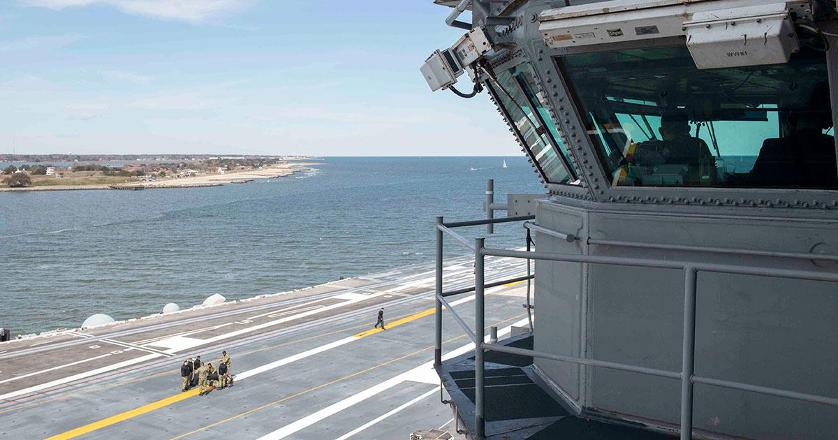 USS Harry S. Truman Gets Back to Sea