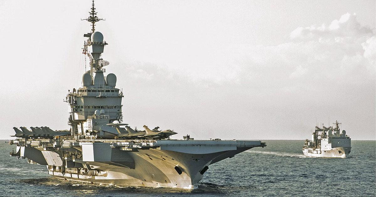 Industrial Consortium Wins Contract for Secure Network for French Navy Vessels