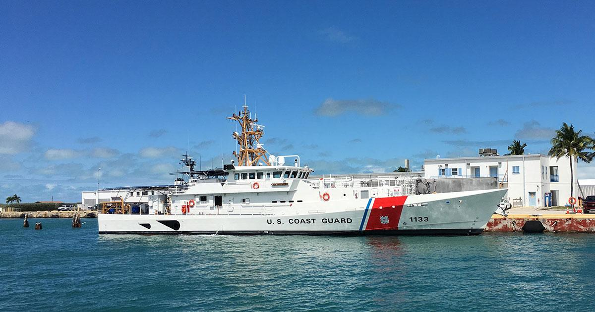 Bollinger Delivers the 33rd Fast Response Cutter, USCGC Joseph Doyle