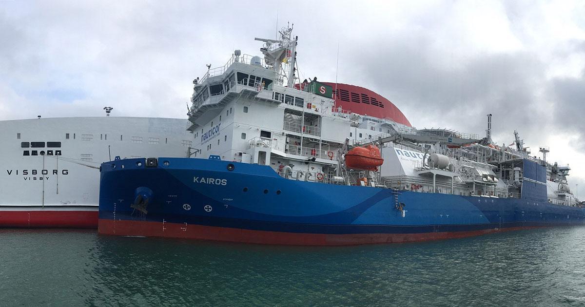Nauticor and Destination Gotland Start LNG Bunkering