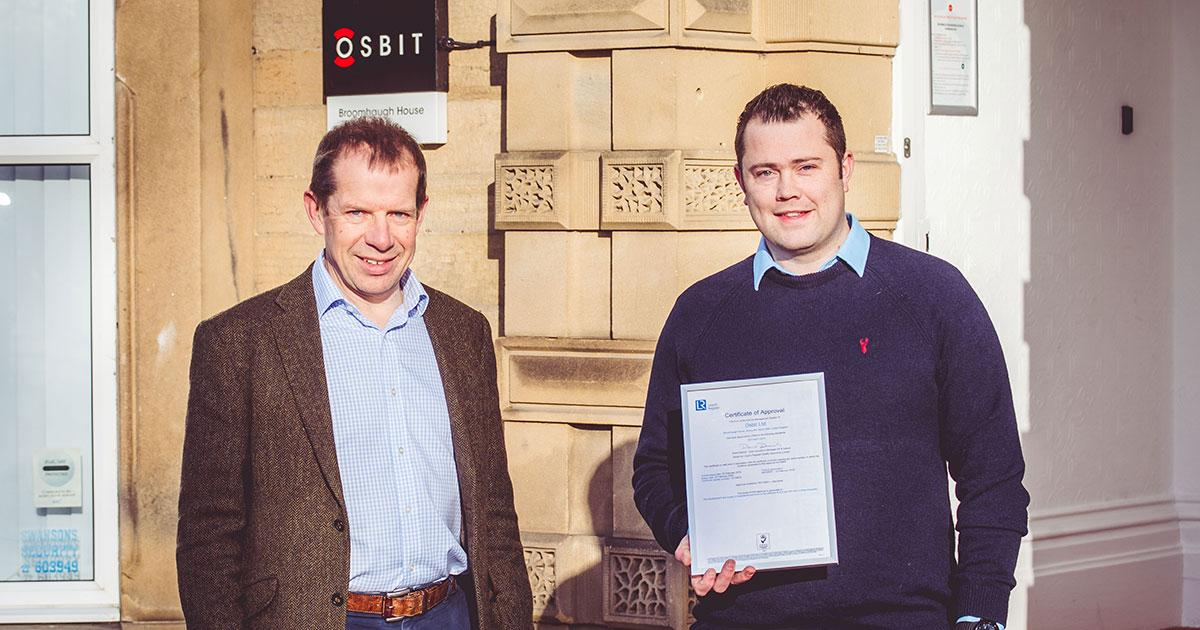 Osbit Achieves ISO 45001 Certification