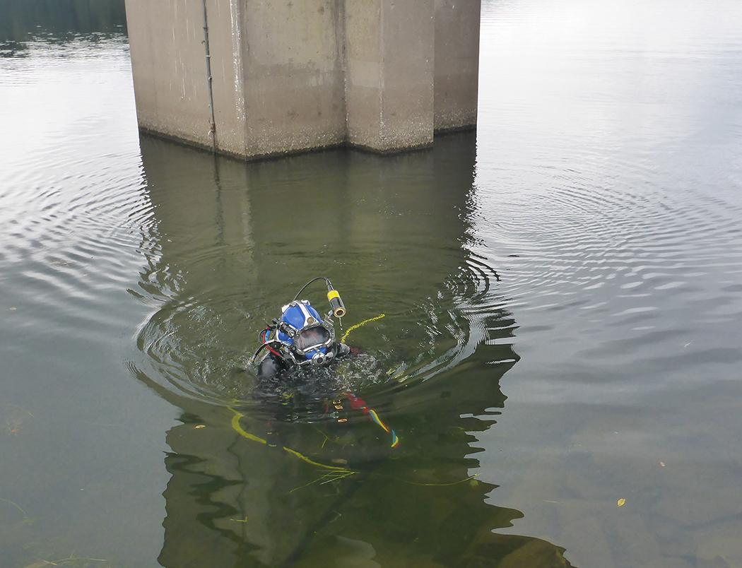 2 Diver performing search