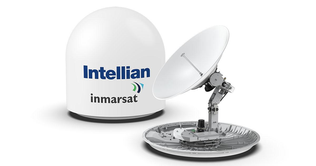 Intellian Introduces the All New 1 Meter Global Xpress Terminal, GX100NX