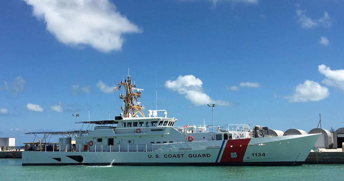 Bollinger Delivers USCGC William Hart to the U.S. Coast Guard
