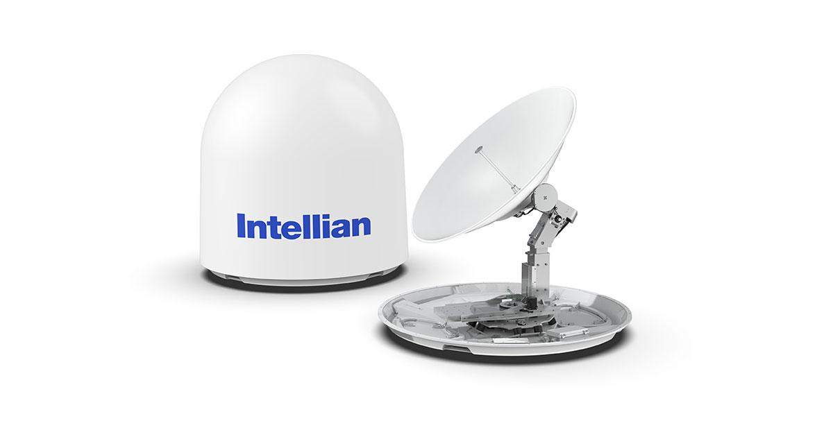 Intellian Launches World's First 1.5M KU to KA Convertible VSAT Terminal
