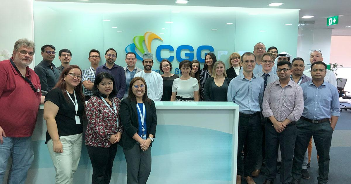 CGG Establish Regional Geoscience Center in Abu Dhabi