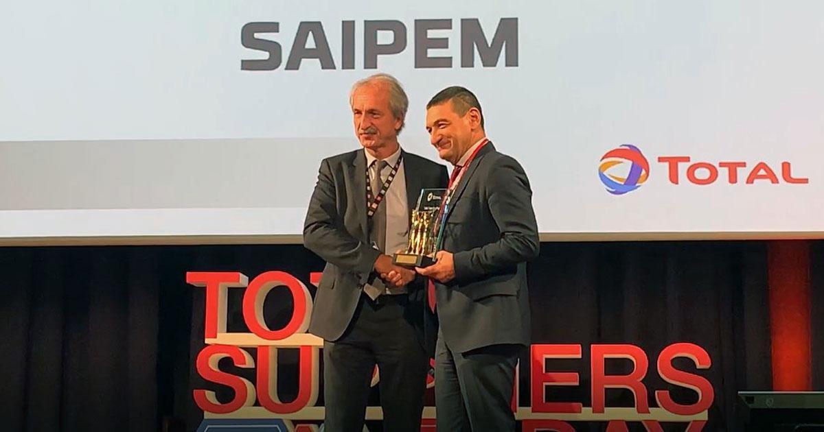 Saipem Receives Total Safety Award