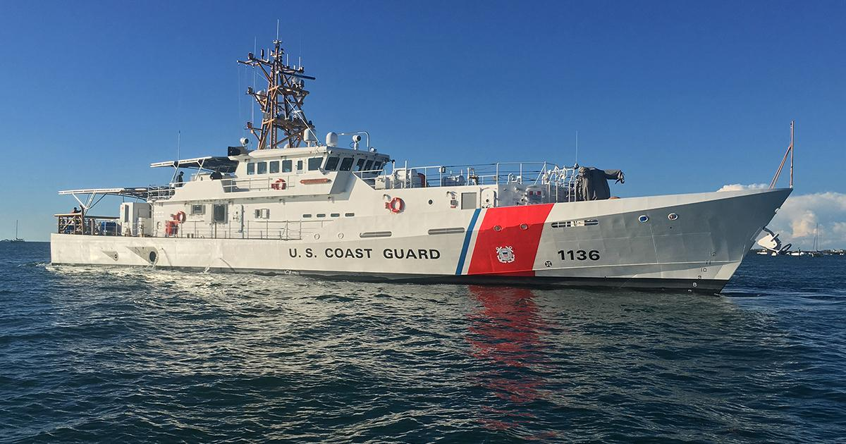 Bollinger Delivers the USCGC DANIEL TARR to the U.S. Coast Guard