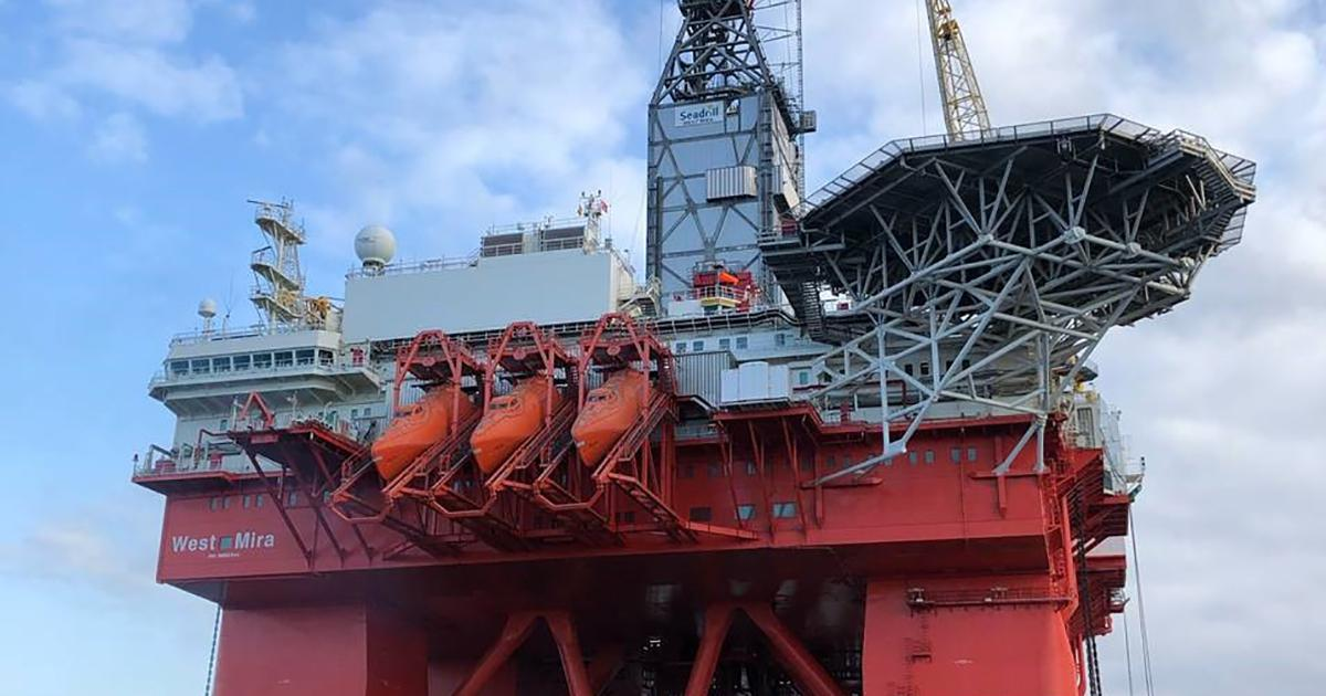 West Mira Drilling Rig Awarded DNV GL Battery (Power) Class Notation