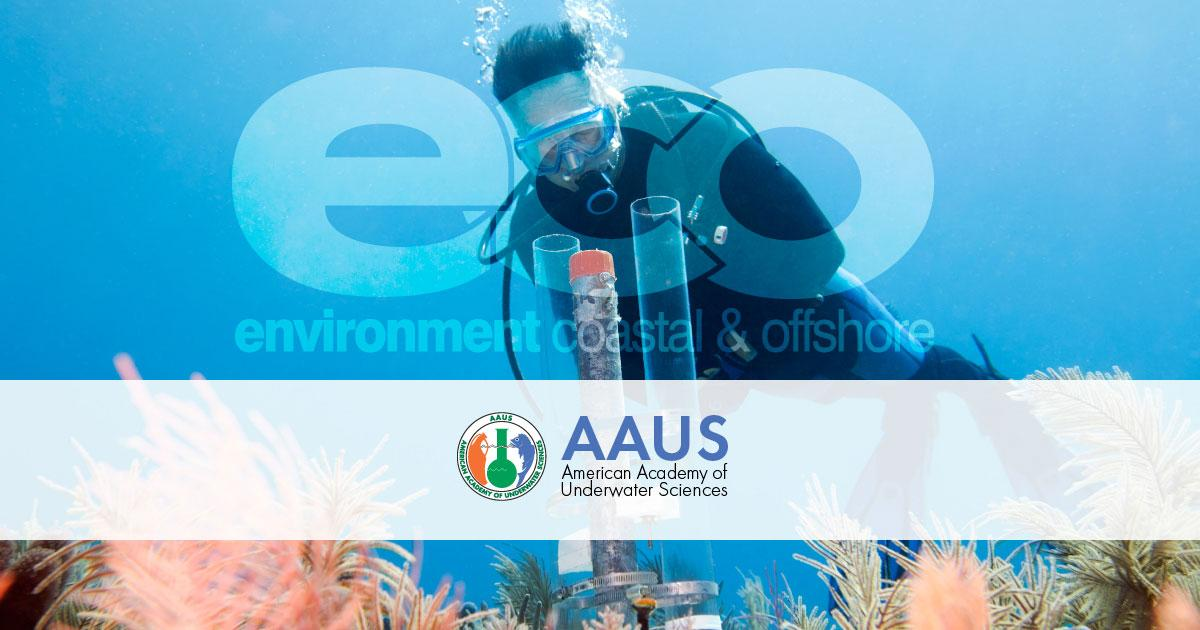 ECO Magazine Partners with the American Academy of Underwater Sciences