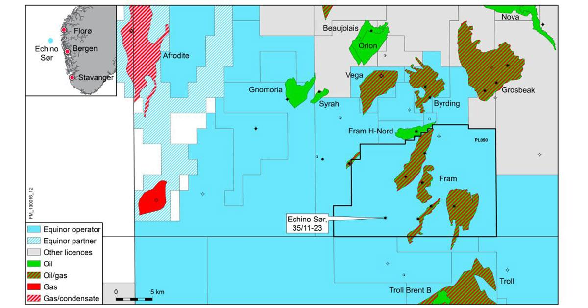 Equinor and Partners Discovers Oil and Gas in North Sea