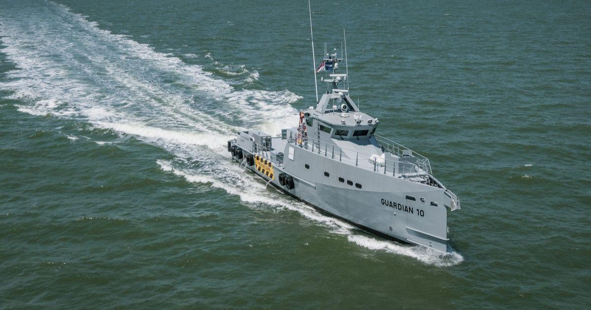 Latest Damen FCS 3307 Patrol Vessels Arrive in Nigeria