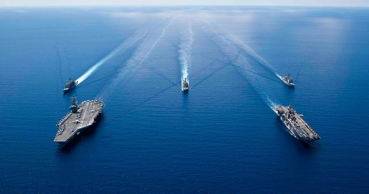 Ronald Reagan CSG, Boxer ARG Join Forces in the Indo-Pacific