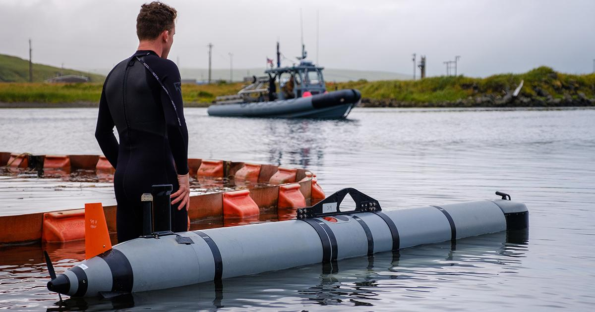 EOD Unit Succeeds in Arctic Test of Unmanned Vehicles, Anti-Mine Systems