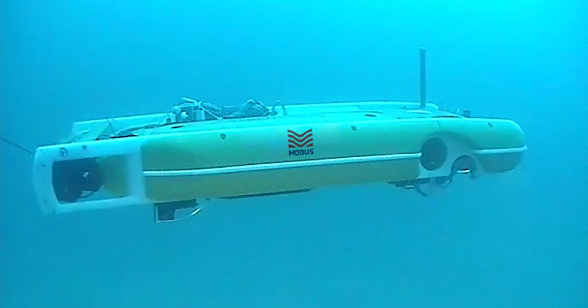 Modus Performs Decommissioning Survey with Hybrid AUV