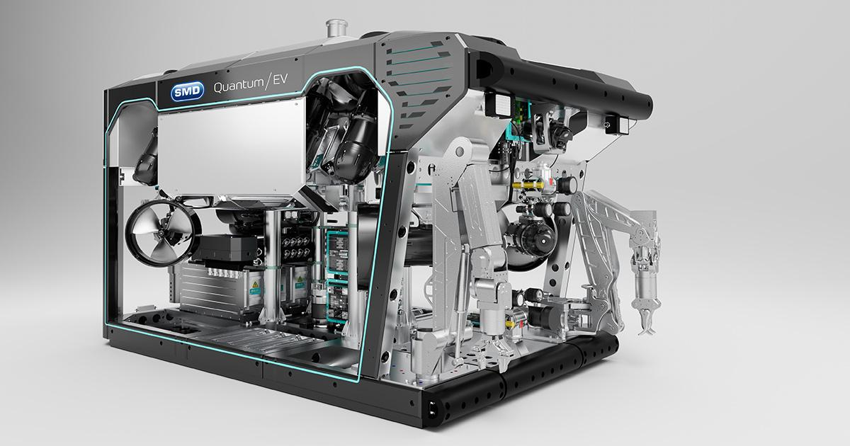 SMD Unveils New Green, Super Capable Work Class ROV