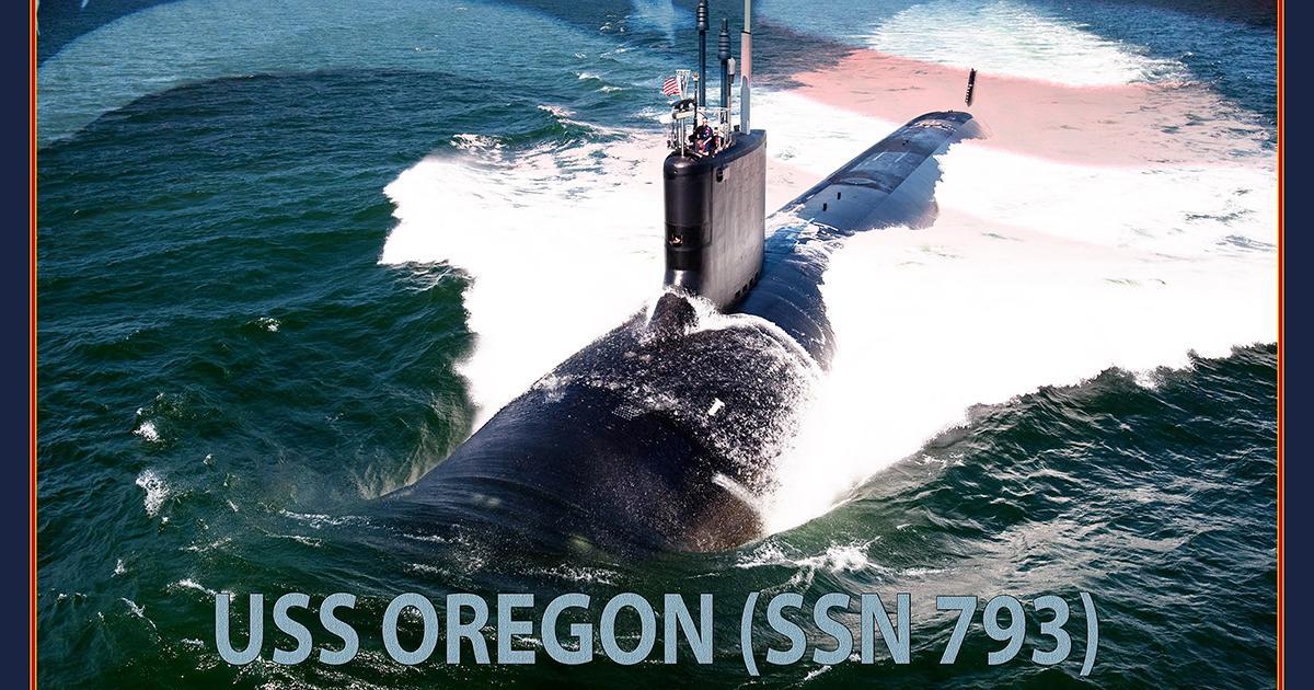 Navy to Christen Submarine Oregon