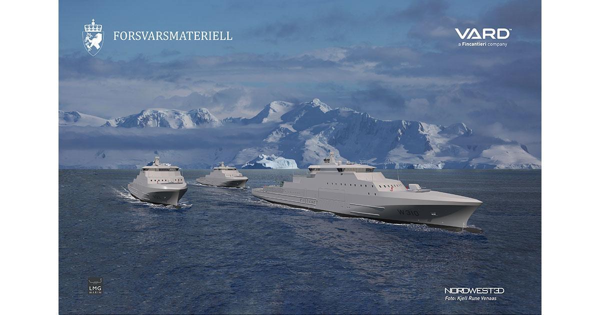 Vestdavit to Supply Next Generation Norwegian Polar Coast Guard Vessels