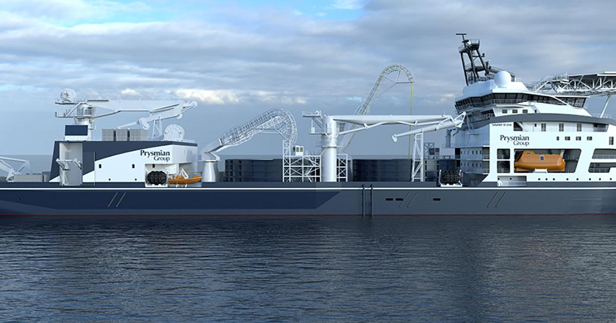 Prysmian Constructing New Cable-Laying Vessel