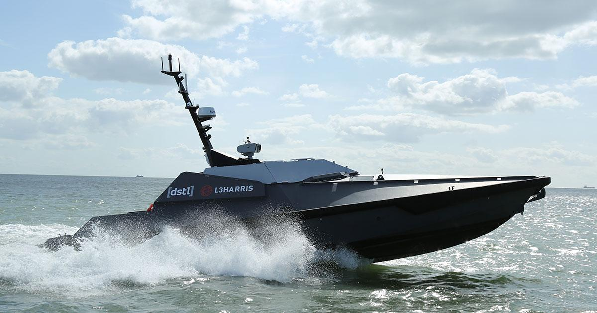 L3Harris Technologies Delivers Advanced Autonomous Vehicle Capability to UK's Defence Science and Technology Lab
