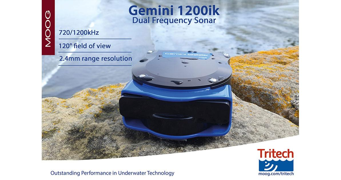 Tritech Introduces the Gemini 1200ik Dual Frequency Sonar