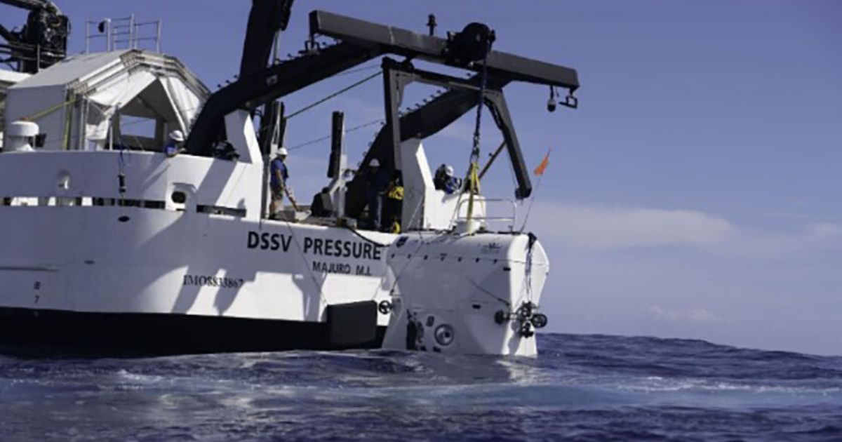 NOAA Teams with Caladan Oceanic to Map the Deepest Parts of the Ocean