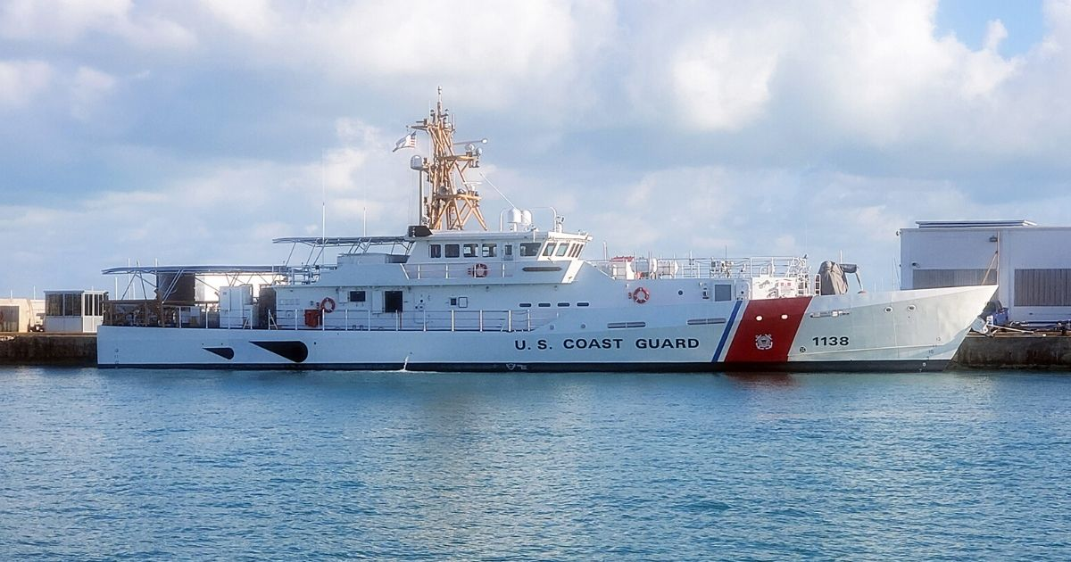 Bollinger Delivers the 38th Fast Response Cutter to the U.S. Coast Guard