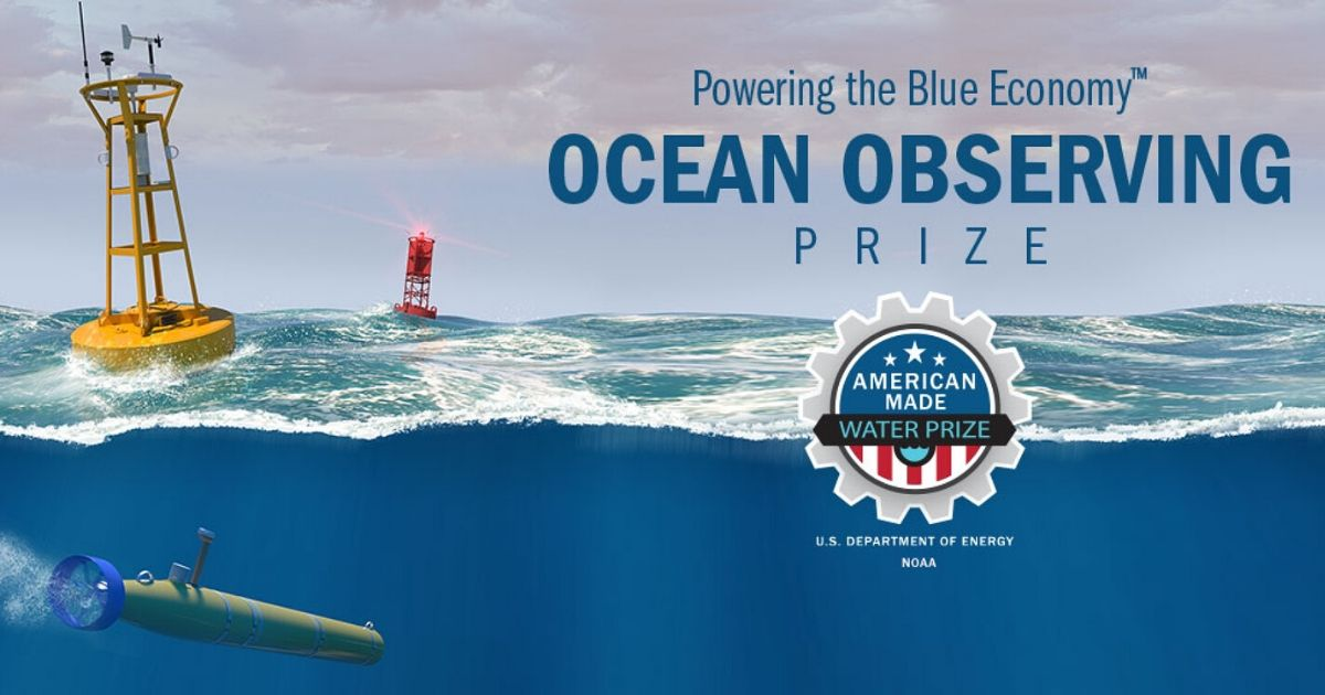 Winners of the Powering the Blue Economy Ocean Observing Price Announced