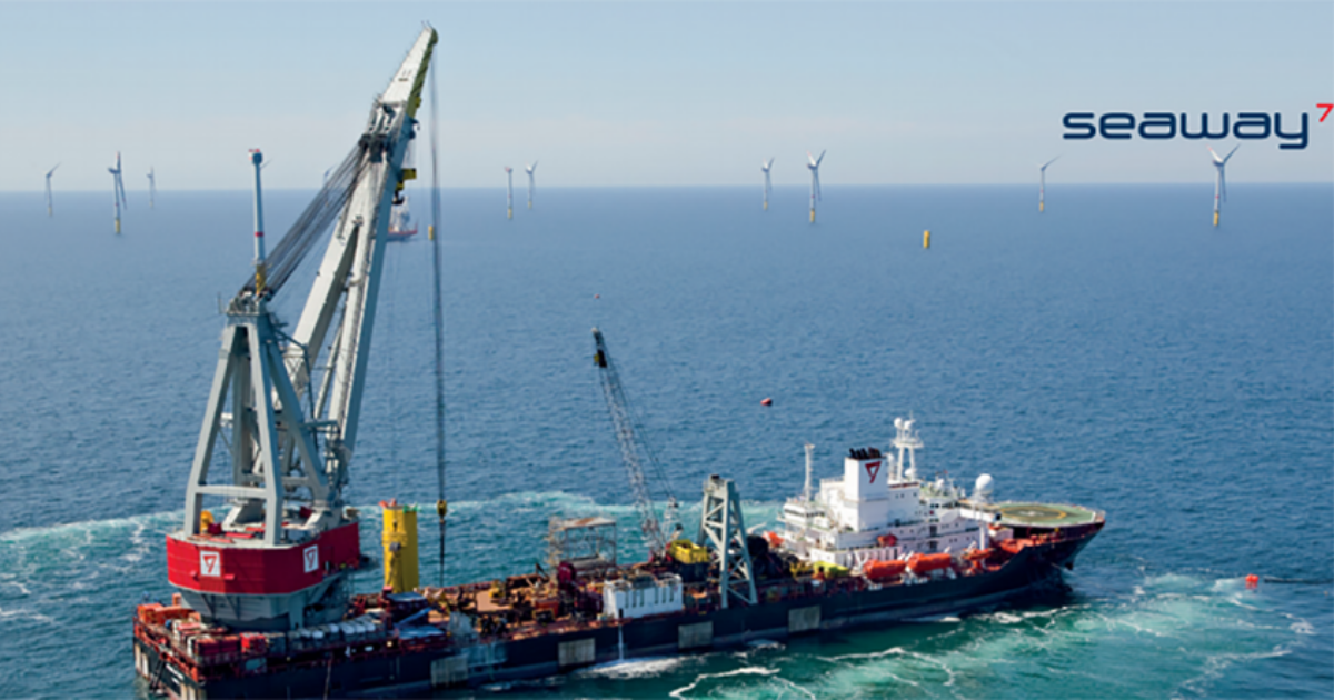 Subsea 7 Awarded Offshore Wind Contract Offshore Germany