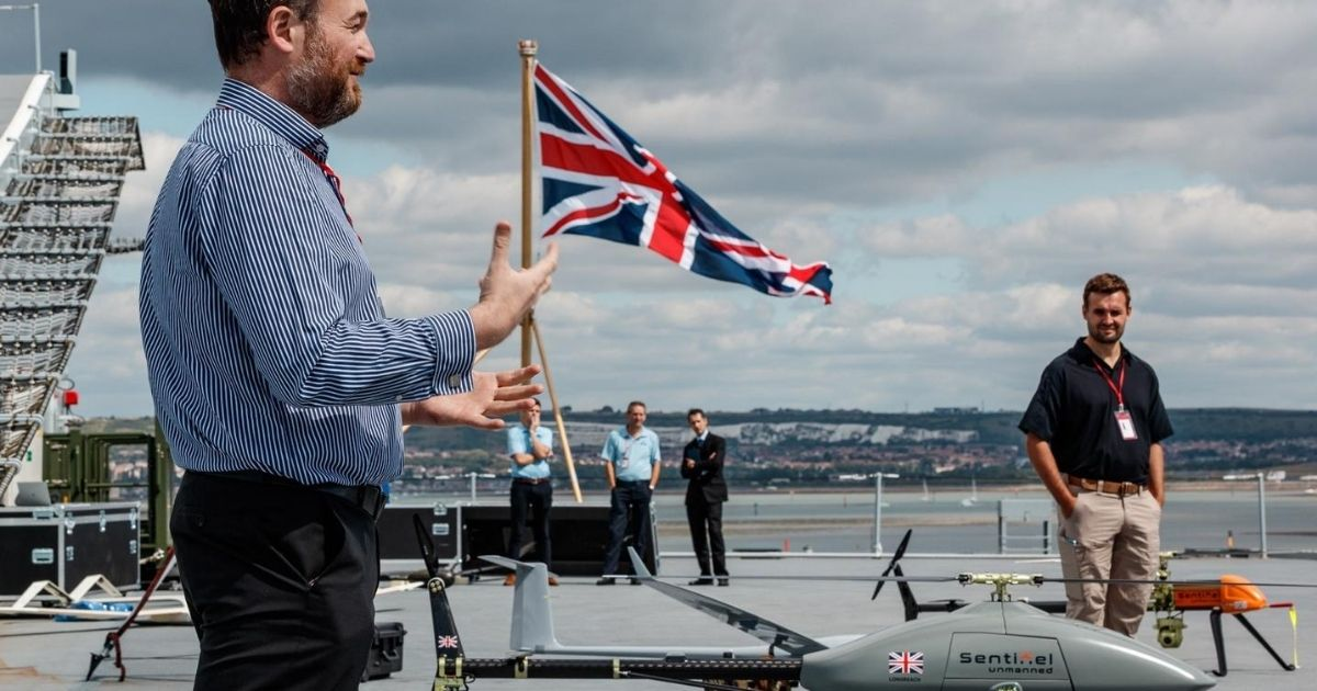 Royal Navy to Use Drone Technology for Future Operations