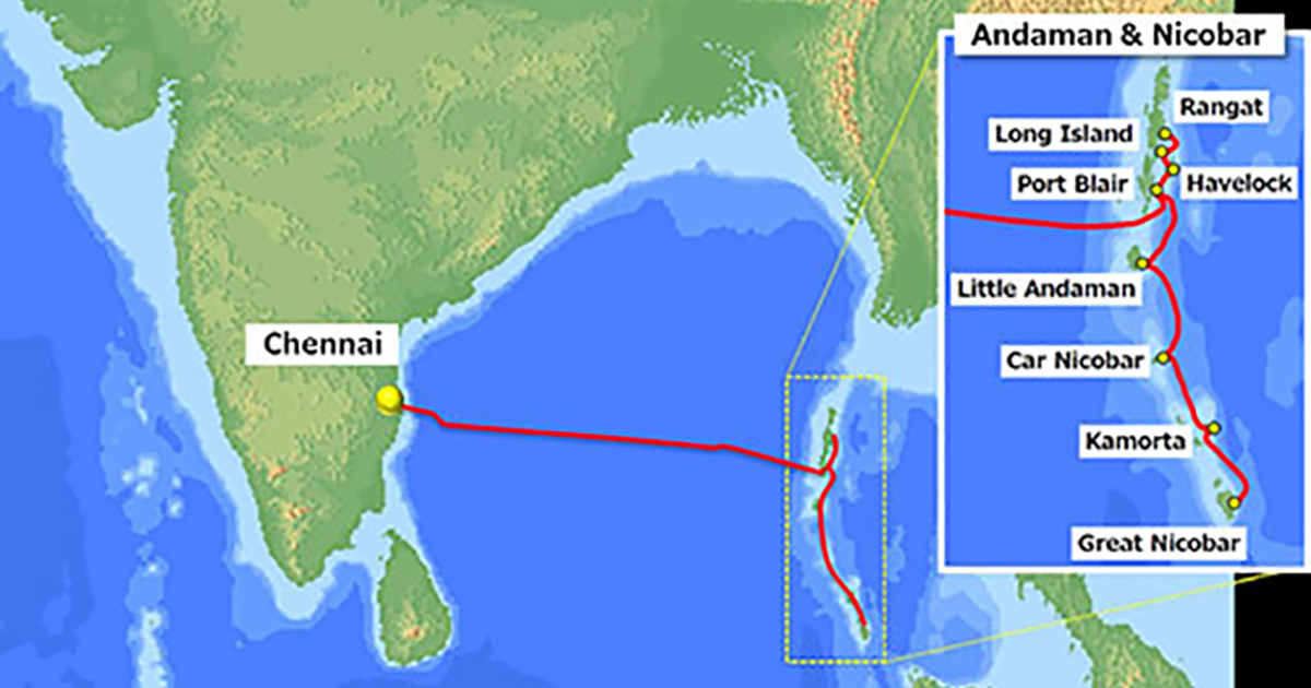 NEC Completes Submarine Cable System for BSNL