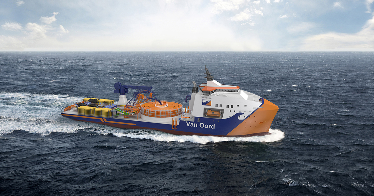 VARD to Deliver Custom-Built Green Cable-Laying Vessel to Van Oord