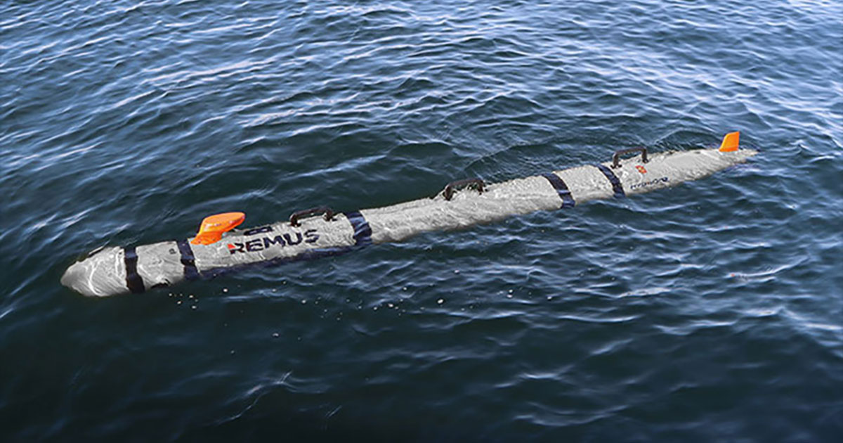 Hydroid Delivers REMUS 300 UUV to US Navy