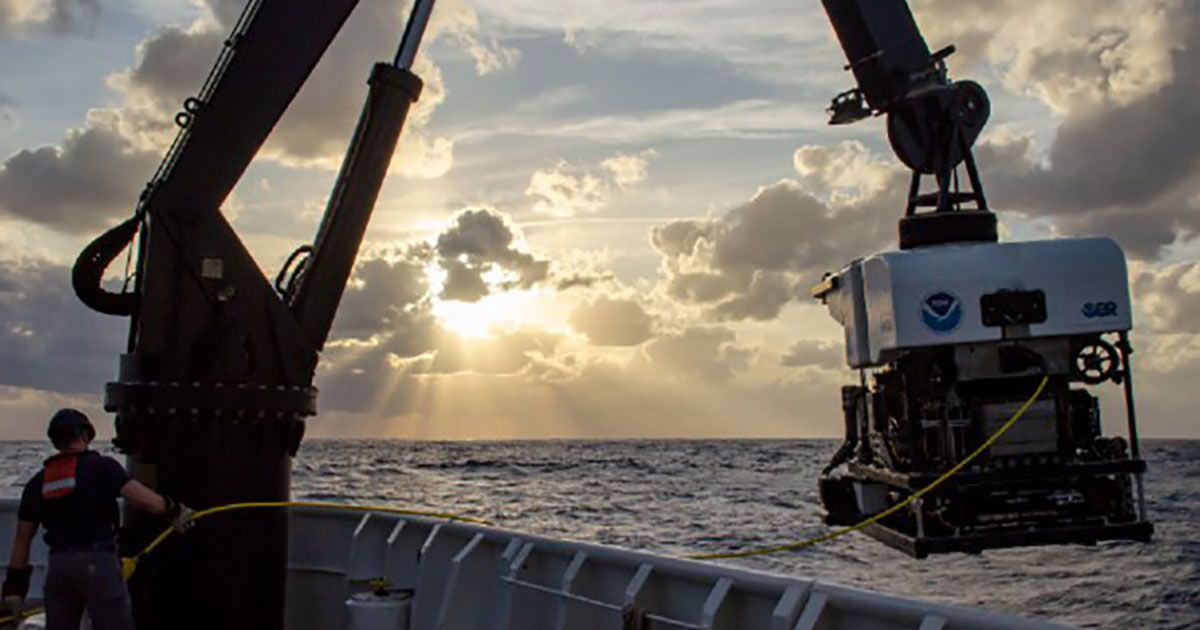 NOAA Joins OceanX to Advance Ocean Exploration and Mapping