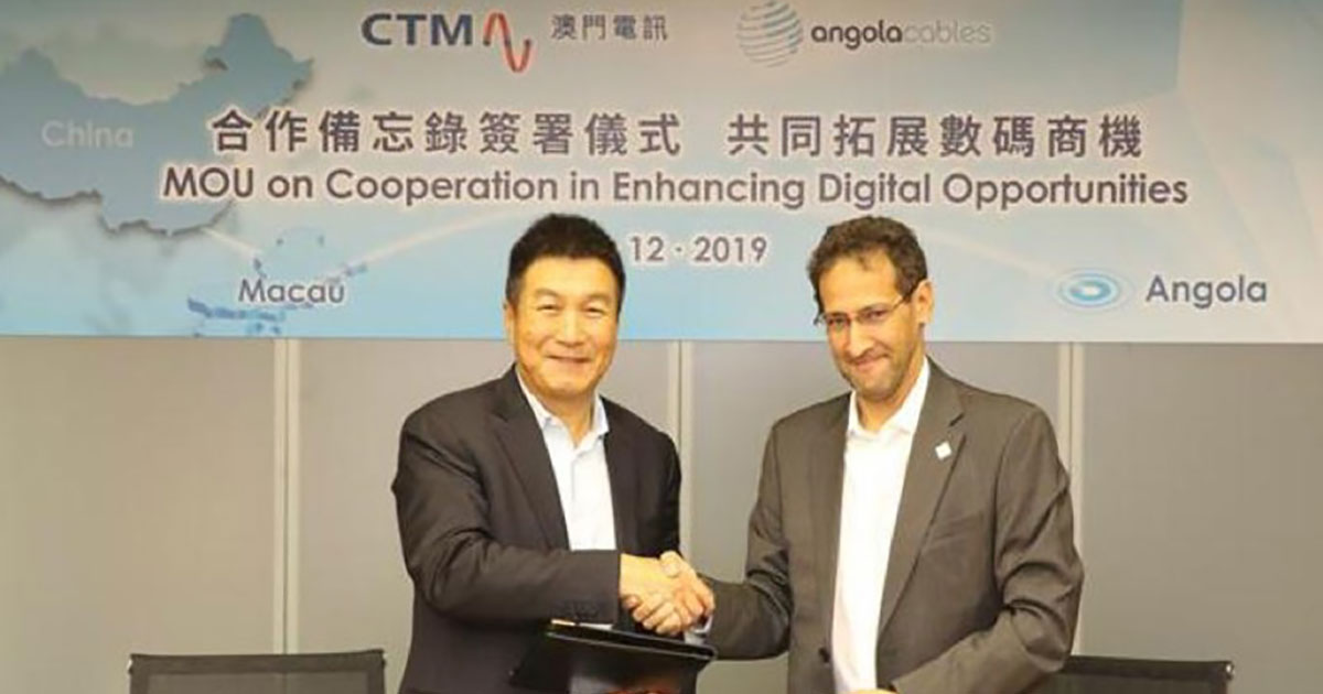 Angola Cables and CTM Enter into MOU