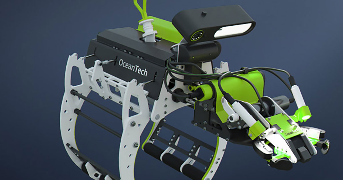 OceanTech Develops Inspection Robot Prototype