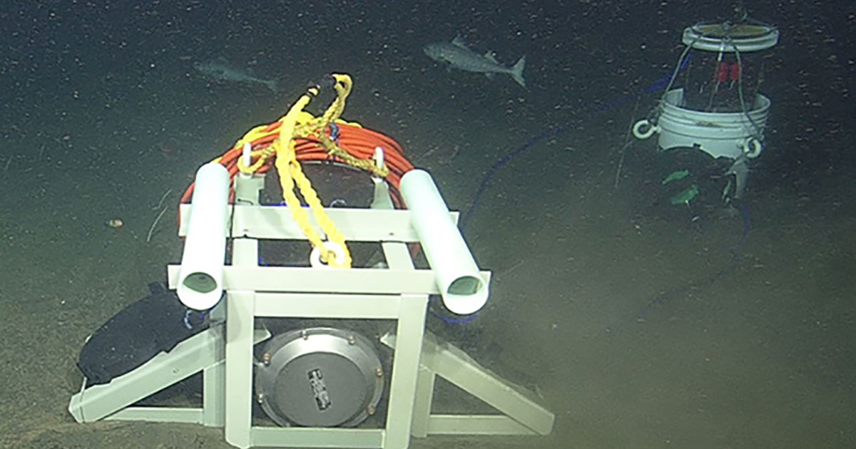 A New Low-Cost Way to Connect Deep-Sea Instrument