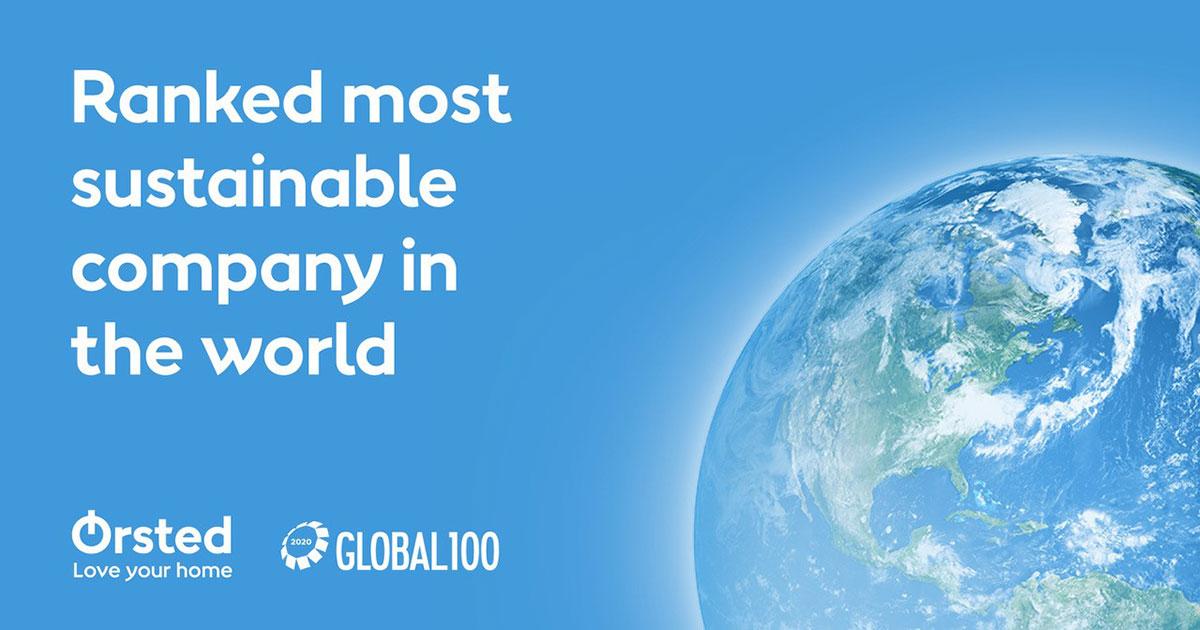 Global 100 Index: Ørsted is the World