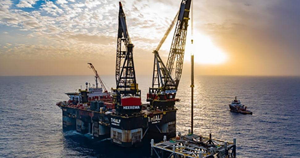 First Gas from the Leviathan Field Offshore Israel