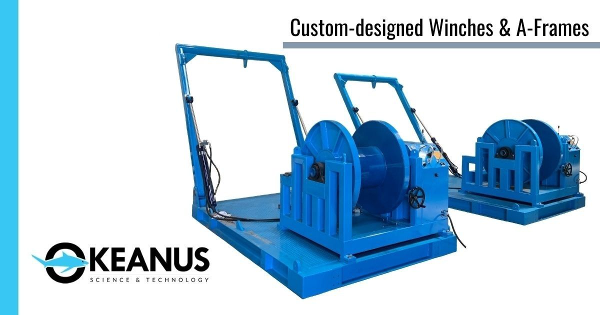 Okeanus Delivers Winches and Launch and Recovery Systems to C-Innovation
