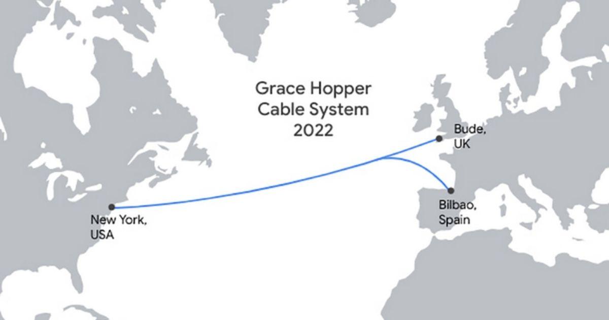 Google Announces the Grace Hopper Subsea Cable System