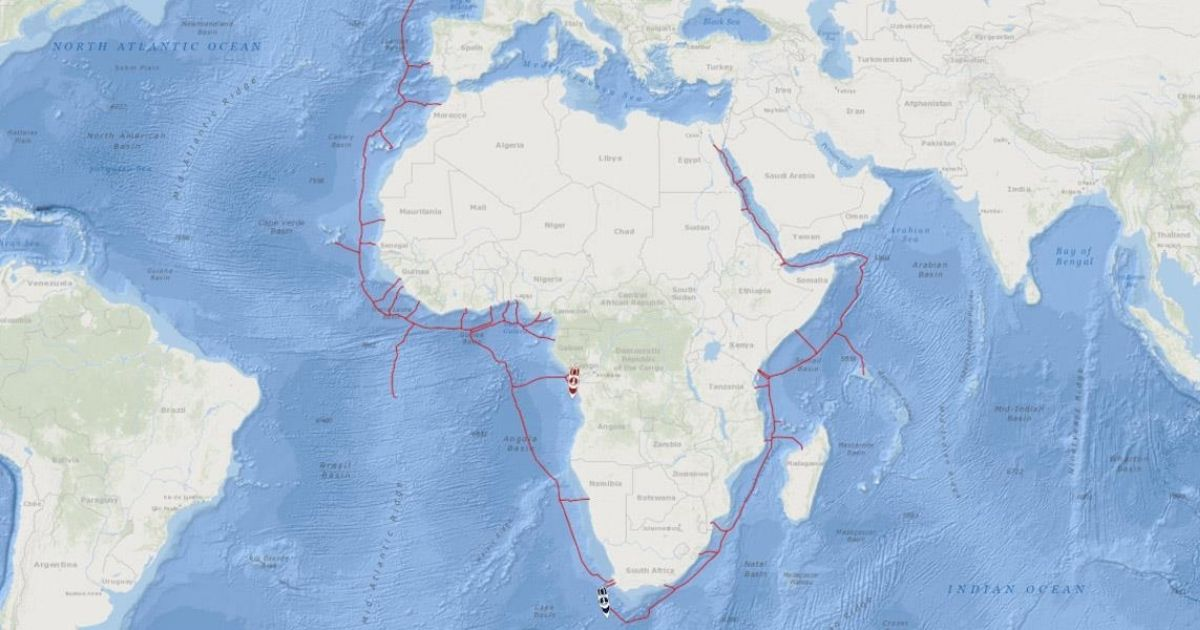 Fugro Begins Survey for 2Africa Subsea Fiber-Optic Cable Project